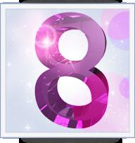 Nombre Actif 8