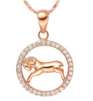 DVAS2.1 magnifique-collier-signe-astrologique-plaque-or-et-cristal-belier