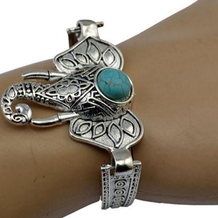 ATAN1.01 Bracelet Ganesh (éléphant) turquoise