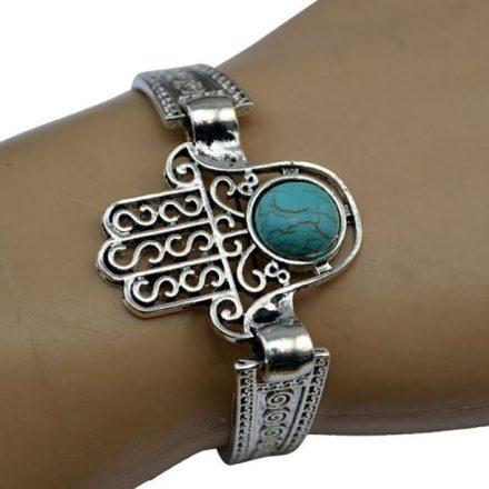 ATPR1.01 Bracelet Main de Fatima (Fatma) Turquoise