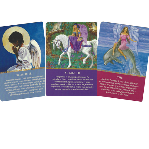 Oracle des Anges Doreen Virtue 3 cartes
