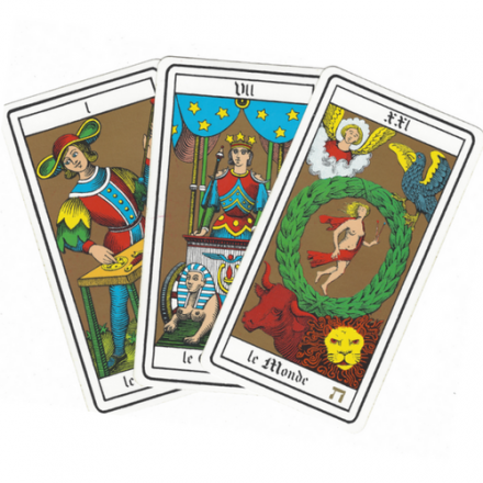 Tirage 3 Cartes Tarot Oswald Wirth