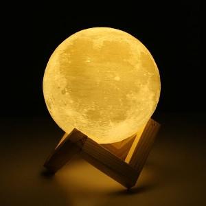 Lampe Lune Enchanteresse 3D