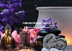 Collection bougie, encens, senteur d'ambiance, ambiance zen,