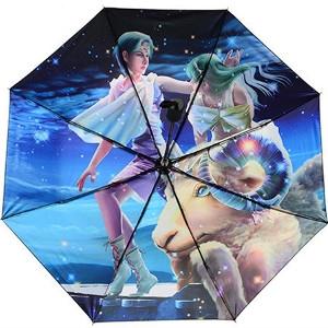 Superbe Parapluie - Parasol décoré du Signe Astrologique Bélier - Univers ésotérique